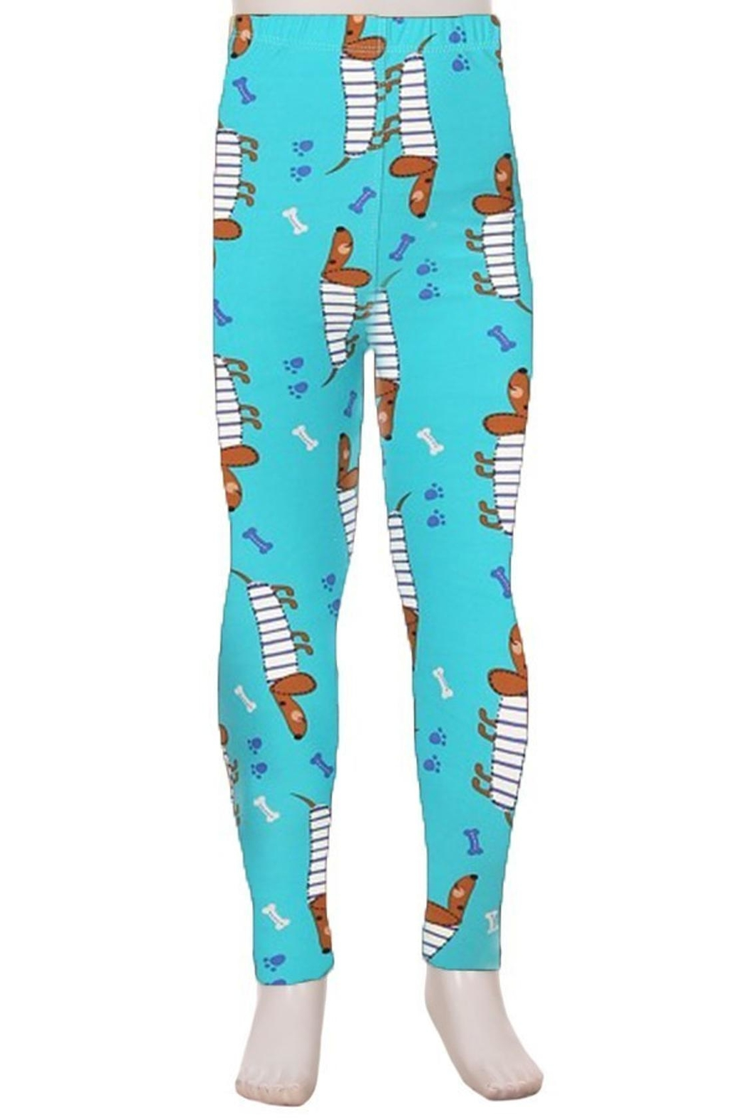 Love It Puppy Kids Leggings - Front Cropped Image