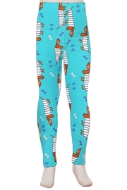 Love It Puppy Kids Leggings - Front cropped
