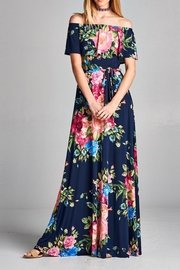 Love Kuza Floral Color Roses Dress - Product Mini Image