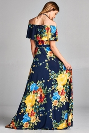 Love Kuza Floral Roses Maxi - Product Mini Image