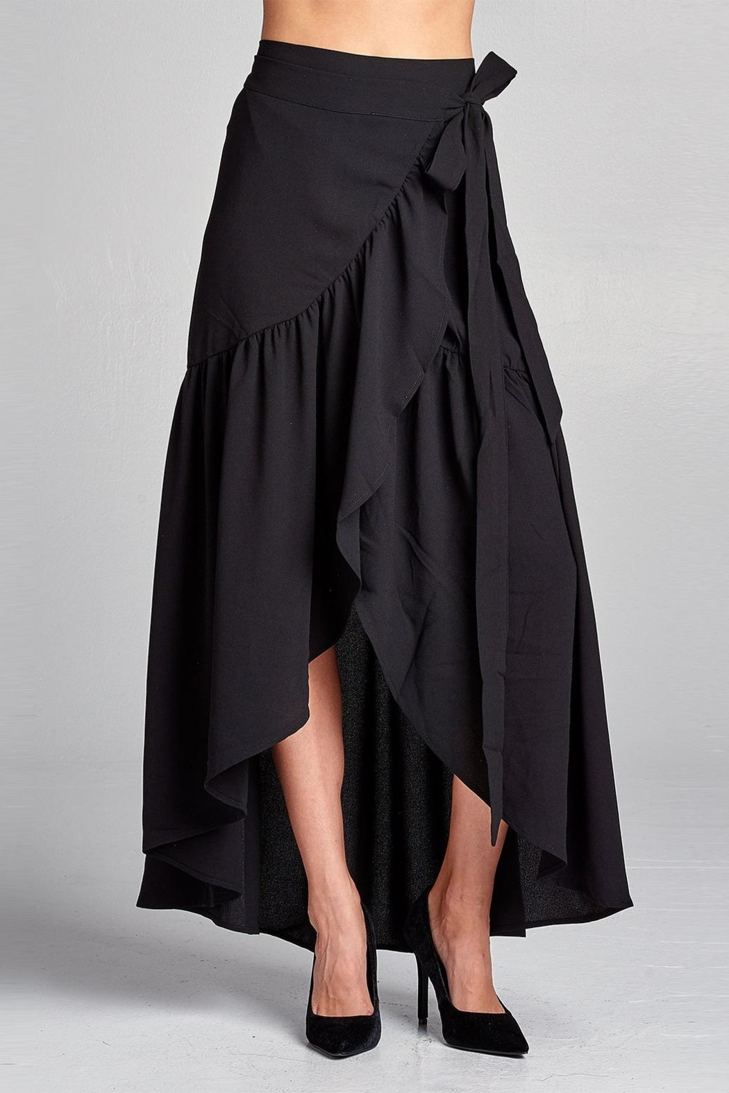 Love Kuza Frilled Wrap Skirt - Main Image