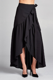 Love Kuza Frilled Wrap Skirt - Product Mini Image
