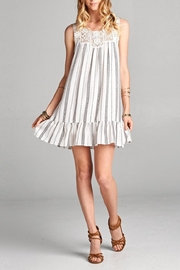 Love Kuza Laced Yoke Dress - Product Mini Image