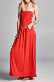 Love Kuza Strapless Casual Maxi Dress - Product Mini Image