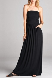 Love Kuza Strapless Dress - Front cropped