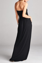 Love Kuza Strapless Dress - Front full body