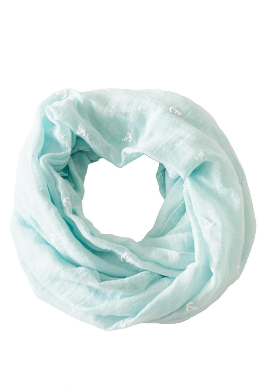 Love of Fashion Anchor Infinity Scarf - Main Image