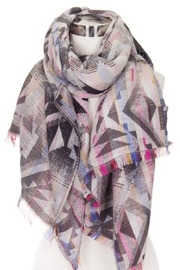 Love of Fashion Aztec Pattern Scarf - Front cropped