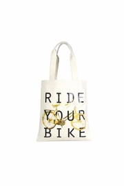 Love of Fashion Bike Eco Tote - Product Mini Image