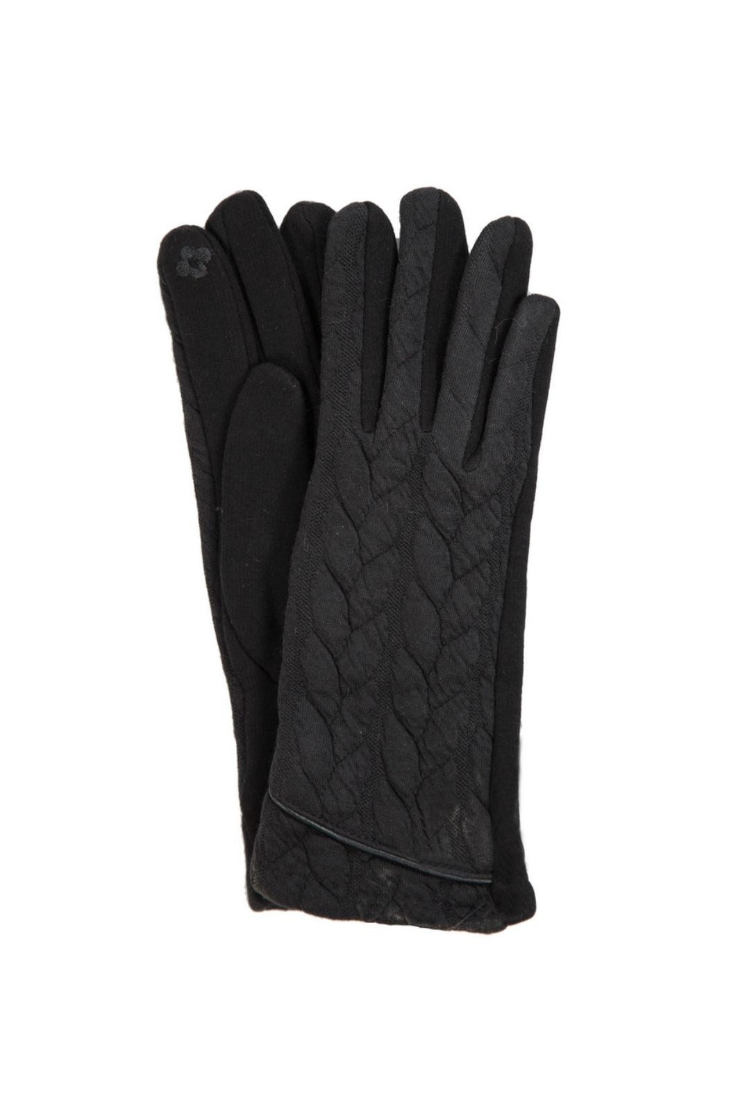 Love of Fashion Black Touchscreen Gloves - Main Image