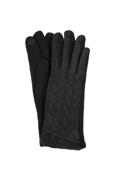 Love of Fashion Black Touchscreen Gloves - Product List Image