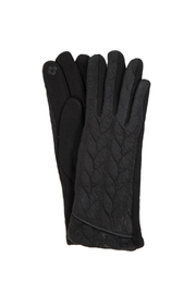 Love of Fashion Black Touchscreen Gloves - Product Mini Image