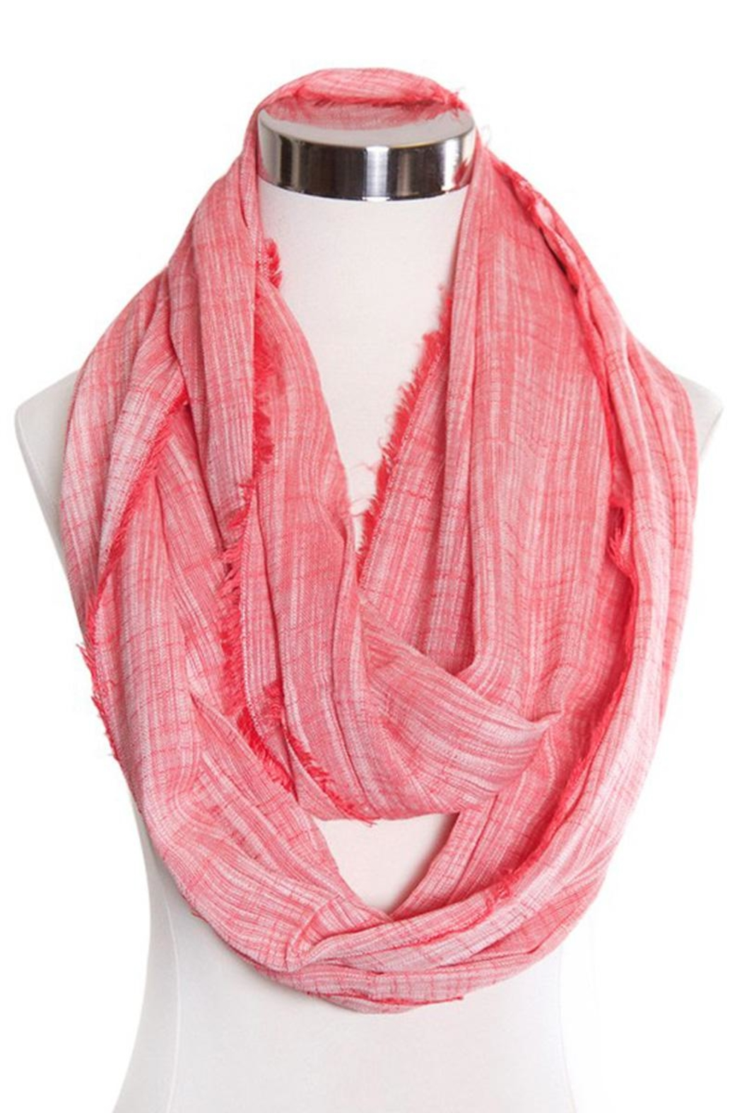 Love of Fashion Chambray Infinity Scarf - Main Image