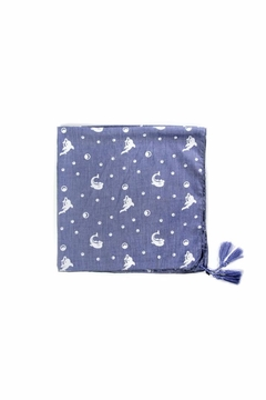 Love of Fashion Dolphin Bandana Scarf - Product List Image