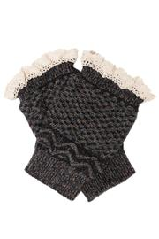 Love of Fashion Knit Boot Cuff - Front full body
