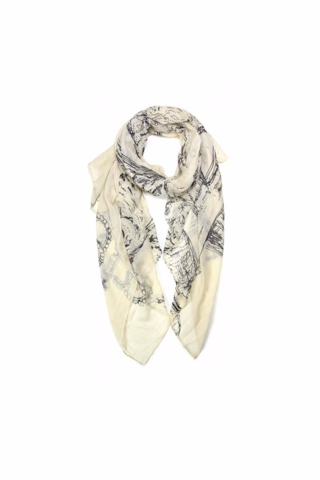 Love of Fashion Owl King Scarf - Main Image