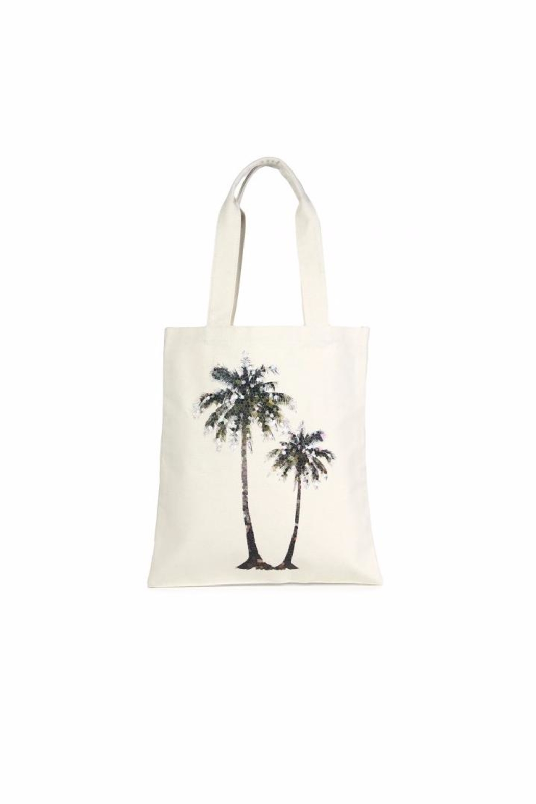 Love of Fashion Palms Eco Tote - Front Cropped Image