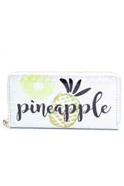 Love of Fashion Pineapple Wallet - Front cropped