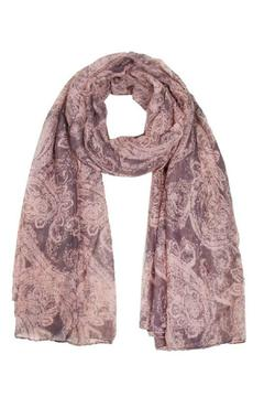 Shoptiques Product: Pink Patterned Scarf