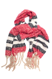 Love of Fashion Plaid Boucle Scarf - Product Mini Image