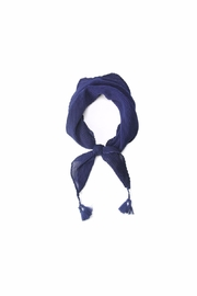 Love of Fashion Pleated Bandana Scarf - Front cropped