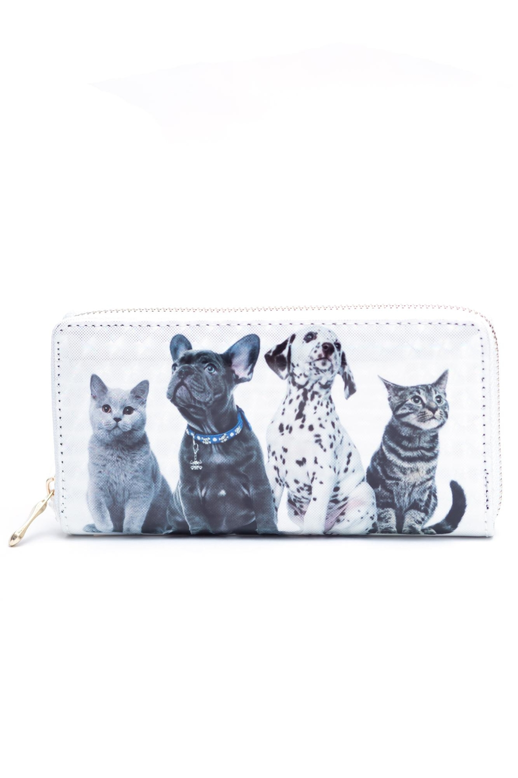 Love of Fashion Puppy Kitten Wallet - Front Cropped Image