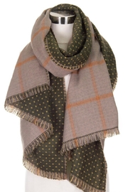Love of Fashion Reversible Scarf - Front cropped