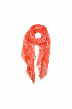 Love of Fashion Seahorse Scarf - Alternate List Image