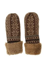 Love of Fashion Snowflake Mitten Gloves - Product Mini Image