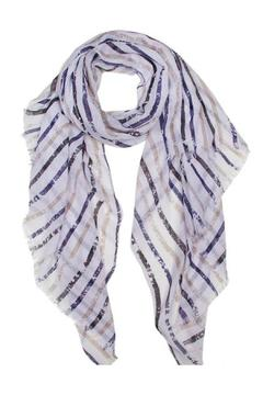 Shoptiques Product: Stripe Oblong Scarf
