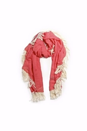 Love of Fashion Tassel Shawl Scarf - Front cropped
