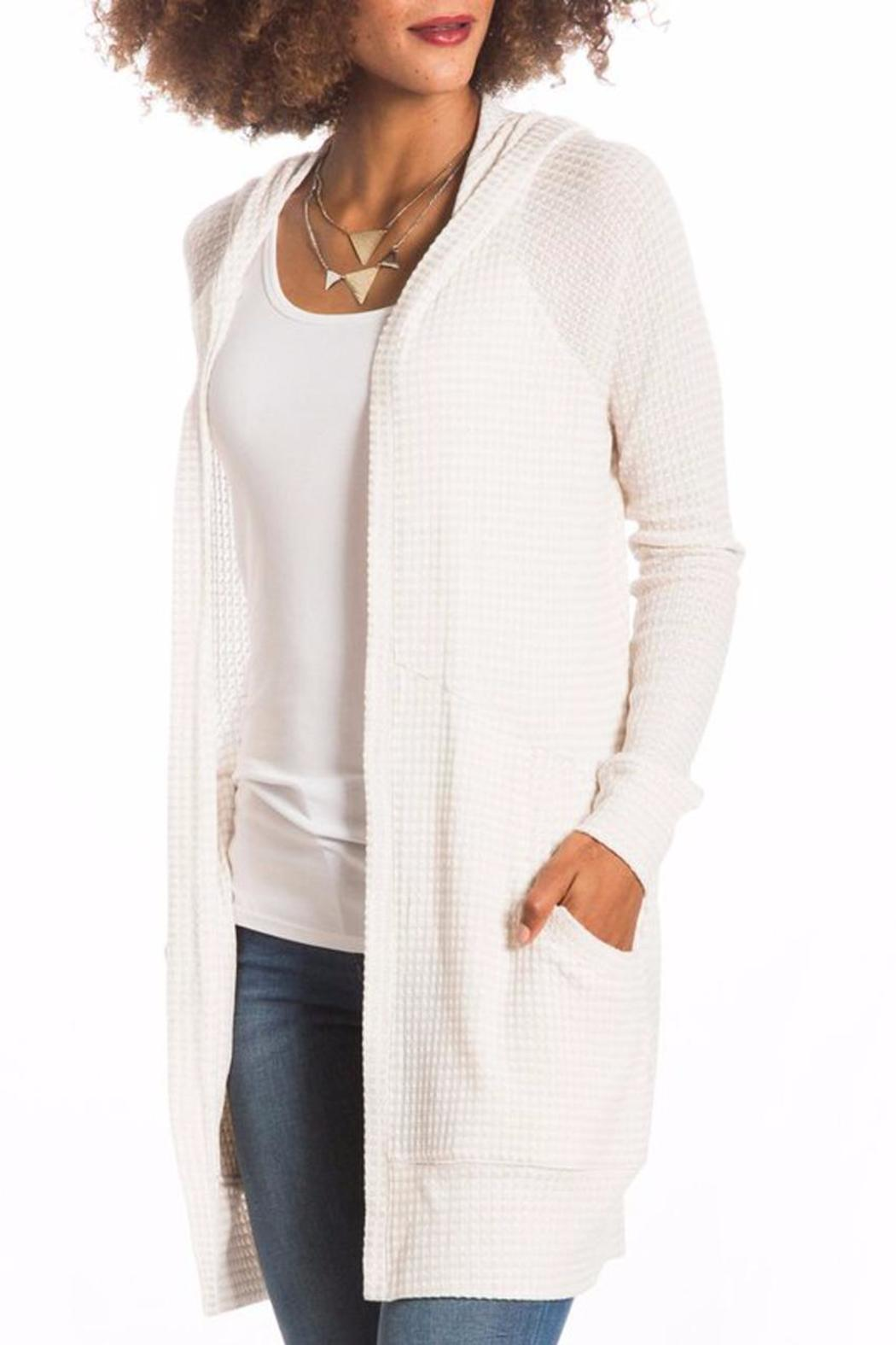 LOVE ON A HANGER Off White Cardigan from California by Maple ...