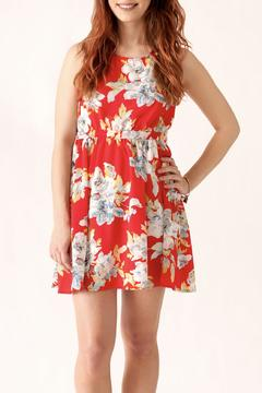 Love Point Floral Crochet Dress - Product List Image
