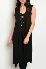Love Republic Chiffon Duster Vest - Product Mini Image