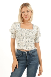 Love Richie Floral Cotton Top - Product Mini Image