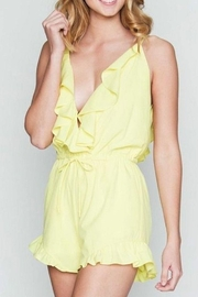 Love Richie Ruffle Trim Romper - Product Mini Image