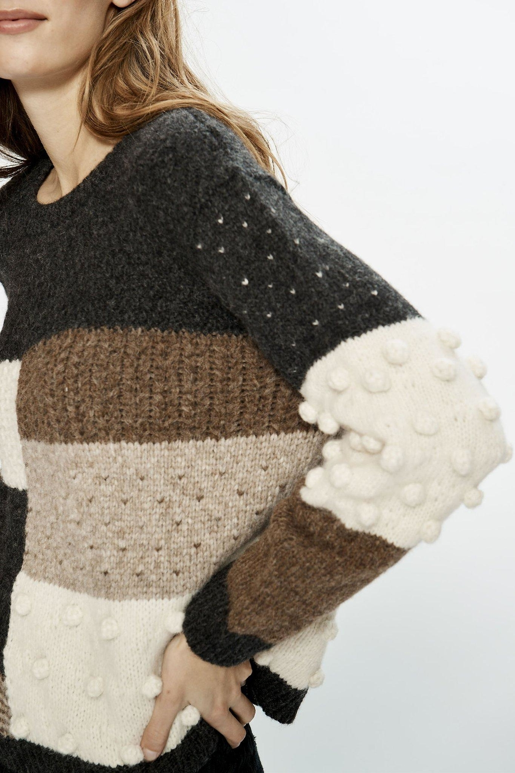 Love Sam Kelly Sweater - Side Cropped Image