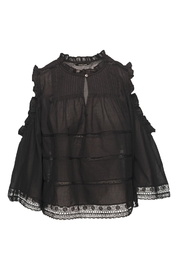 Love Sam Lace Pintuck Blouse Top - Product Mini Image