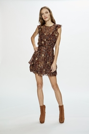 Love Sam Moroccan-Paisley Mini Dress - Product Mini Image