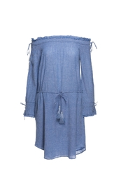 Love Sam Cornflower Blue Dress - Front cropped