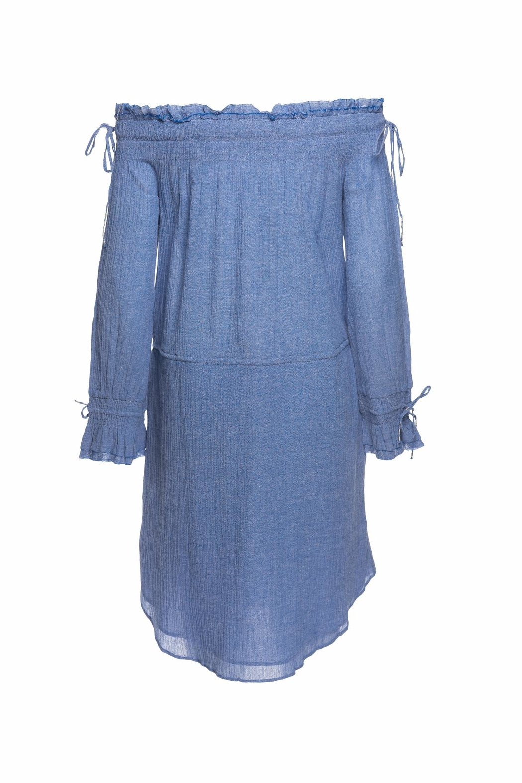 Love Sam Cornflower Blue Dress - Front Full Image