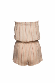 Love Sam Tassels Strapless Romper - Side cropped