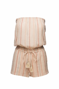 Love Sam Tassels Strapless Romper - Product List Image