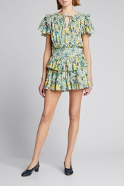 Love Shack Fancy Audette Floral Mini Dress - Product Mini Image