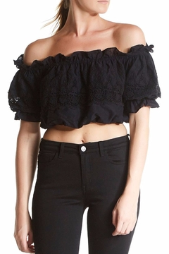 love shack fancy Cecilia Top - Product List Image