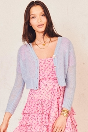Love Shack Fancy Folley Cardigan - Back cropped