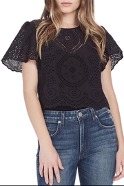 love shack fancy Tallulah Top - Front cropped
