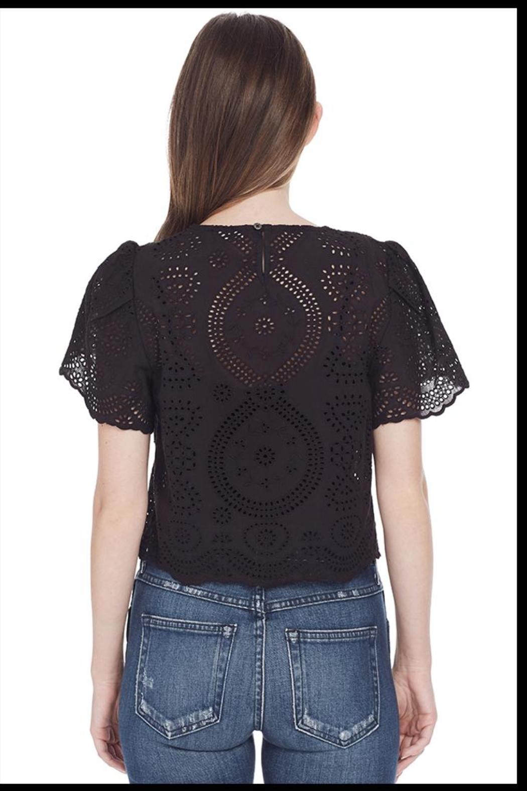 love shack fancy Tallulah Top - Side Cropped Image