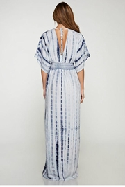 Love St Sky Kimono Maxi Dress - Front full body