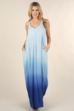 Love Stitch Blue Ombre Dress - Product List Image